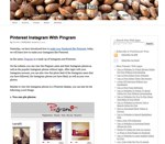 Pinterest Instagram With Pingram